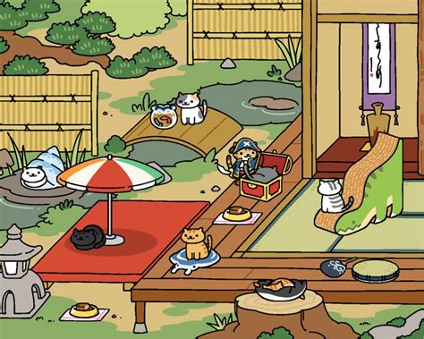zen layout neko atsume 17 best images about neko atsume on pinterest toys