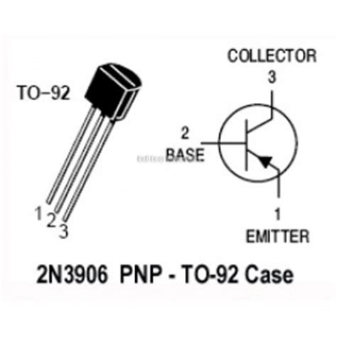 transistor bjt definicion 2n3906 ecured
