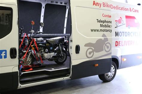 motorcycle delivery uk vehicle transporter in goldthorpe