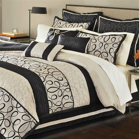 martha stewart bed in a bag martha stewart manuscript king 9 piece comforter bed in a