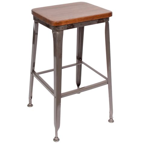 Bfm Seating Bar Stools by Bfm Seating Js200bash Cl Lincoln Clear Coated Steel Bar