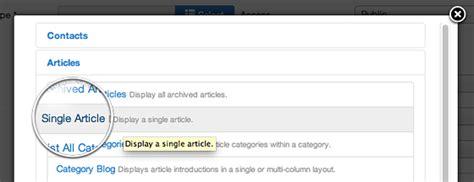 membuat link ke artikel joomla halaman artikel joomla cara untuk link artikel tulisan
