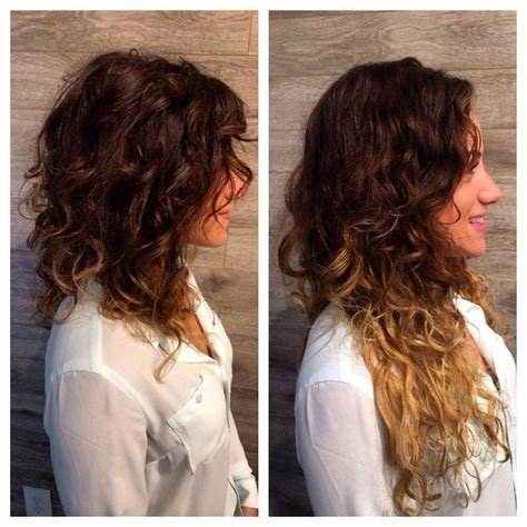 sideview of long wavy angled bob 15 photo of inverted bob haircut for curly hair