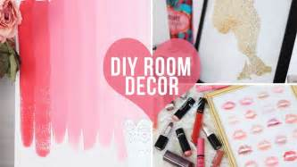 Cheap Bedroom Decorating Ideas For Teenagers 3 easy room decor wall art diys laurdiy youtube