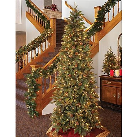 buy bethlehem lights 7 5 foot slim profile christmas tree