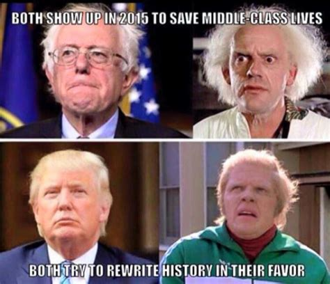 The Future Meme - hill valley politics save the clock maker