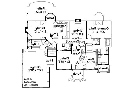 colonial house plan with 4457 square feet and 5 bedrooms from house plan 24966 at