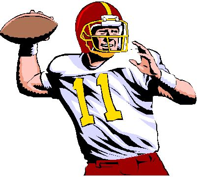 Clipart Of Football Players nfl football players drawings clipart best
