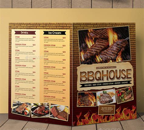 Bbq Menu Templates 27 Free Psd Epd Documents Download Free Premium Templates Bbq Menu Template