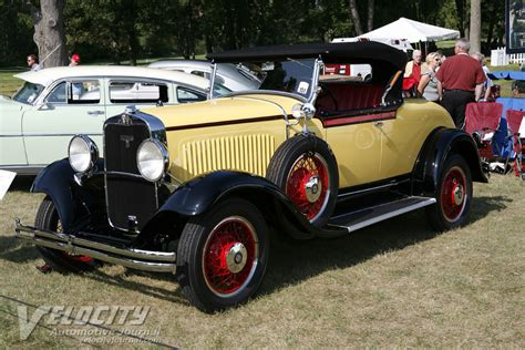 1930 dodge roadster 1930 dodge dc rumble seat roadster information
