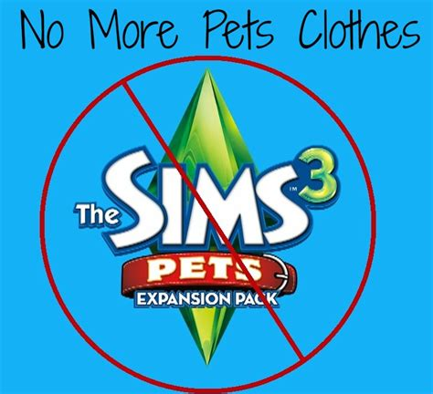 No More Newsvine Fashion by Mod The Sims No More Pets Clothes Farewell The Sims 3