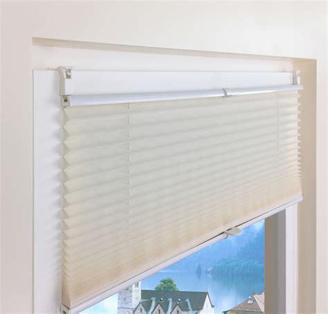 Fenster Sichtschutz Klemmfix by Plissee Faltrollo Rollo Sichtschutz Jalousie Plisseerollo