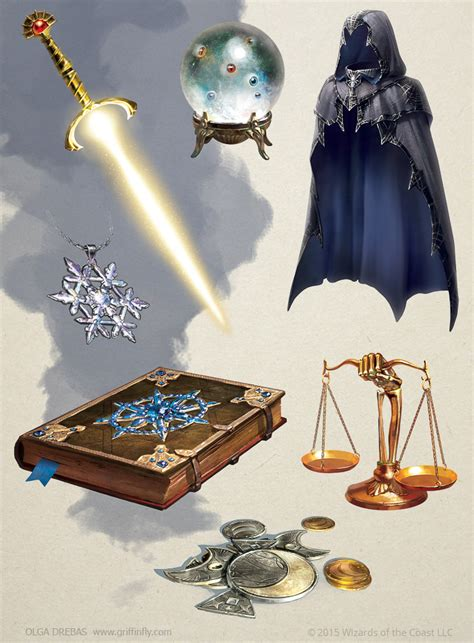 Magic Giveaways - magic items by olgadrebas on deviantart