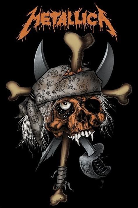 Metallica Skull metallica pirate skull poster sold at europosters