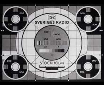 test pattern radio old swedish television testcard youtube
