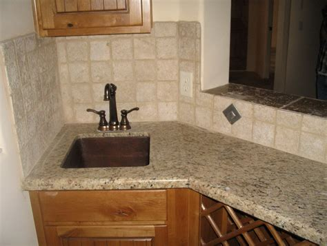 Travertine Tile Kitchen Backsplash Tumbled Travertine Backsplash Designs Home Design Ideas