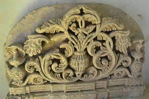 make a blue print file stone carved with floral design jpg wikimedia commons