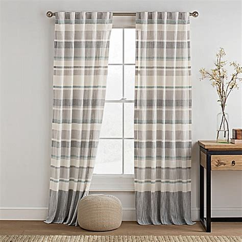 kas curtains kas room logan rod pocket back tab window curtain panel