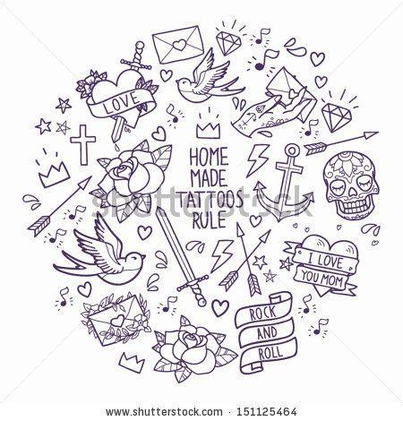 tattoo old school vector les 25 meilleures id 233 es de la cat 233 gorie tatouages old