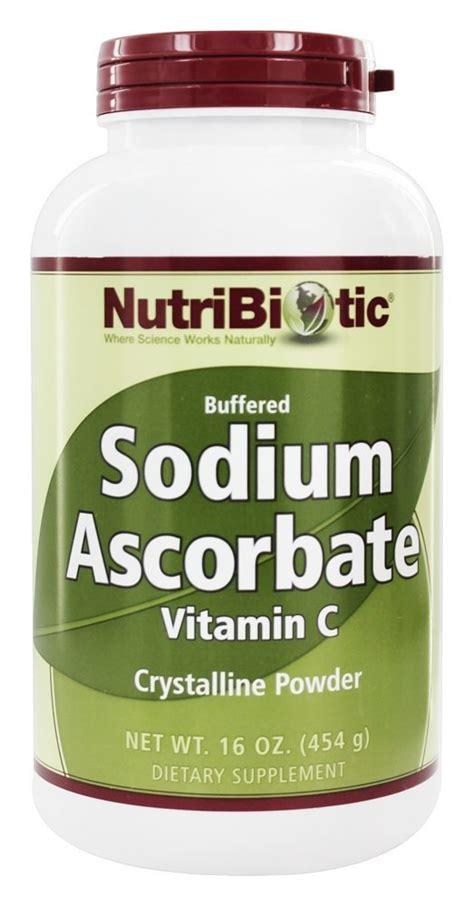 Sodium Ascorbate Detox by Buy Nutribiotic Sodium Ascorbate Buffered Crystalline