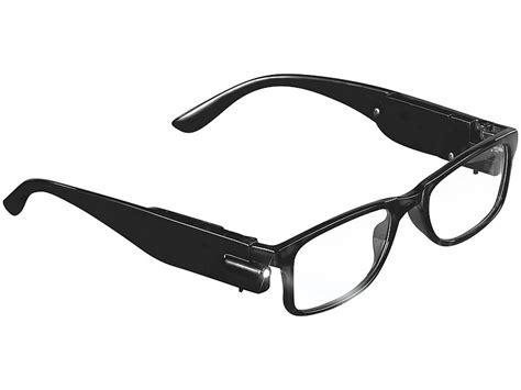 brille ohne gestell pearl modische brille mit integriertem led leselicht ohne