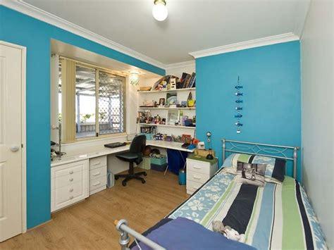 built in desk bedroom children s room bedroom design idea with hardwood built
