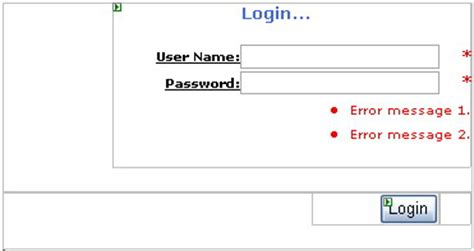 asp net tutorial 8 create a login website creating master after adding the control i created a login button on the