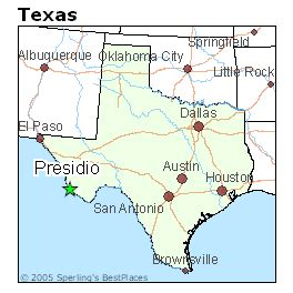 presidio texas map best places to live in presidio texas