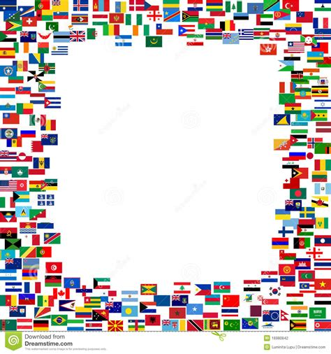 flags of the world page border world flags border clip art 46