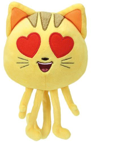 heart film emoji cat with heart eyes the emoji movie toy sense