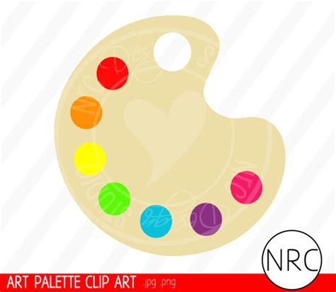 printable art palette artists palette clipart clipground