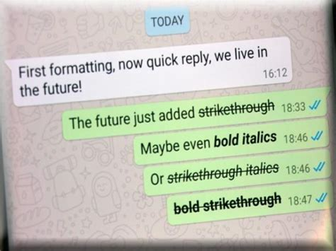 cara membuat huruf tebal di whatsapp cara membuat tulisan miring tebal dan dicoret di whatsapp
