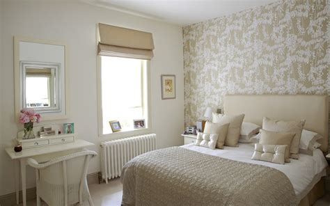 guest bedroom shabby chic style bedroom dublin by optimise design