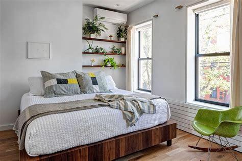 renovated  brooklyn home  brick walls  gradient design studio