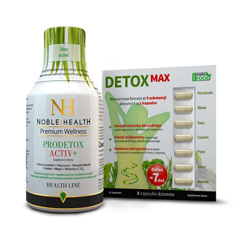 Detox Pack by Max Detox Pack Dermocosmetics And Dietary