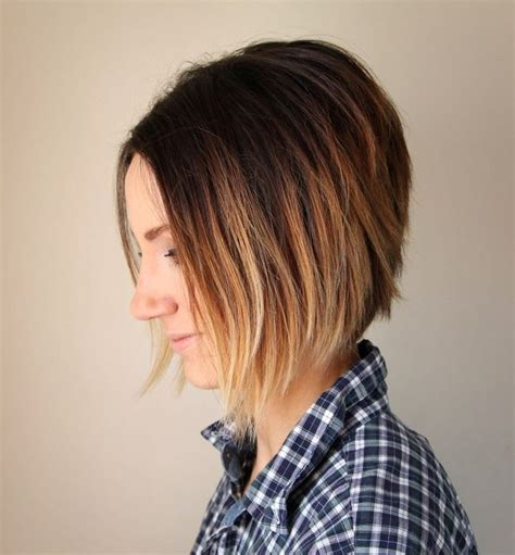 How To Cut Own A Line Hairstyles | 17 best images about hair bobs angled a line inverted on