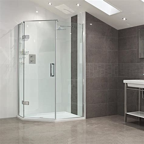 Neo Angle Shower Enclosure by Decem Neo Angle Shower Enclosure Showers