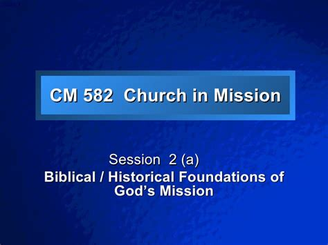 participating in god s mission a theological missiology for the church in america the gospel and our culture series gocs books church in mission session 2