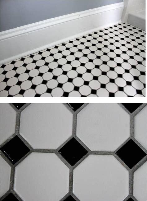 Bathroom Floor Tile White Grout Best 20 Black Grout Ideas On Industrial