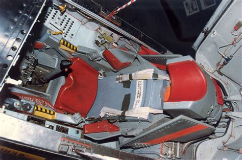 Tails Through Time: Extreme Punchout: The Ejection Seat of ... X 15 Cockpit