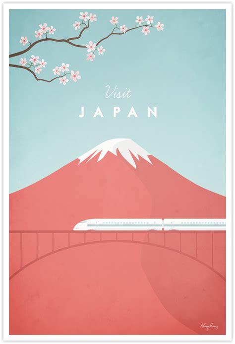 poster design japan japan vintage travel poster travel poster co