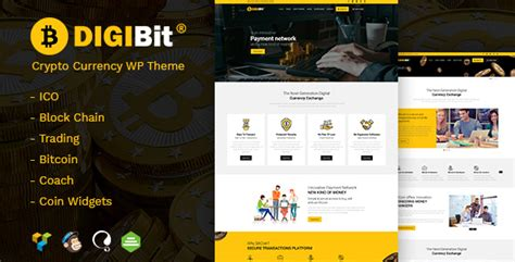 Themeforest Bitcoin | themeforest digibit download cryptocurrency bitcoin and