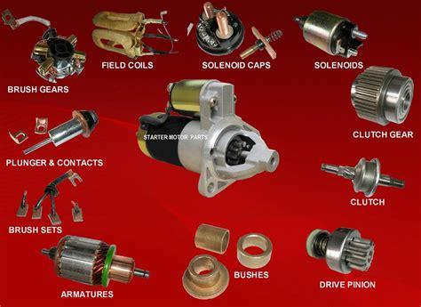 function of motor starter starter motor parts and functions www pixshark