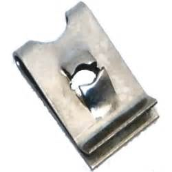 Upholstery Spring Clips Spring Steel Speed Spire Clips For No 6 Screws Pack Of