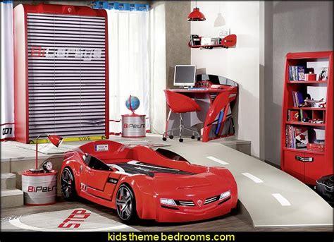 cars themed bedroom furniture birch:  garage door wardrobe barrel nightstand car themed bedroom furniture