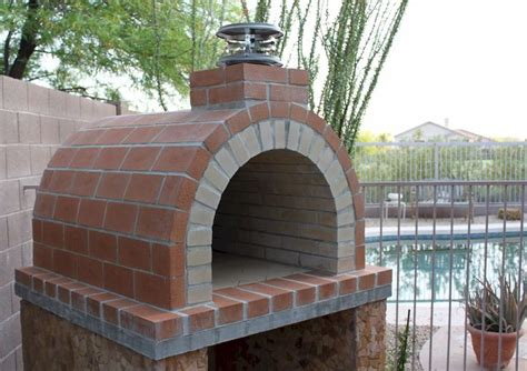 build a wood fired pizza oven in your backyard pin by danny morales on wood burning ovens pinterest