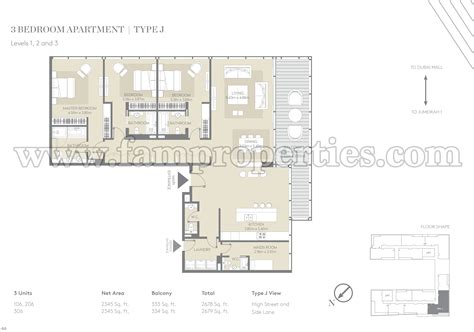walk up apartment floor plans floor plans city walk jumeirah by meraas