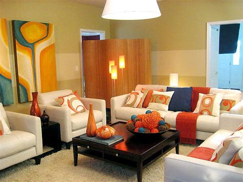 small living room decor ideas home round area round cream rugs cylindrical tapered legs small