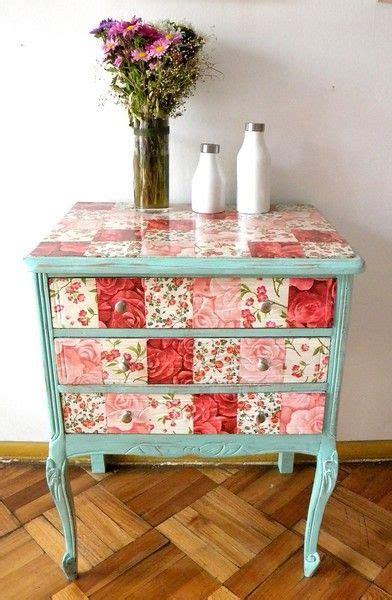 Decoupage Furniture For Sale - 1000 ideas about decoupage desk on decoupage