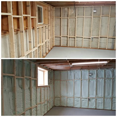 turtles and tails basement wall framing insulating